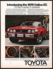 1975 TOYOTA Celica GT Red Car AD w/ interior photos