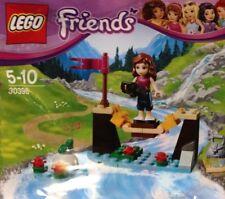NEW! LEGO Friends Adventure Camp Bridge w/ Olivia Mini doll! (30398)
