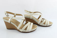 Details about GEOX RESPIRA RRP £88 BLACK GENUINE LEATHER WEDGE SANDALS SUMMER SHOES LADIES