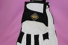 WESTERN SAFETY REAL GOATSKIN RIDING / STABLE GLOVE SIZE LARGE NWT