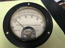 Weston Galvanometer & Weston Milliammeter-jor