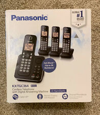 Panasonic KX-TGC364B Cordless Telephone with Digital Answering Machine (New, 4)