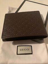 Original Gucci Geldbörse/Kartenetui Leder Braun