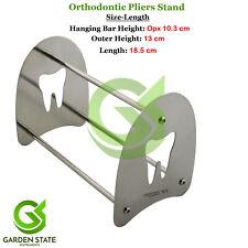 Stainless Steel Dental Stand Holder For Hold Orthodontic Pliers Forceps Scissors