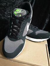 🔥 Nike Para Hombre Air Pegasus 92 Lite Negro/Pure Platinum Zapatos Zapatillas Uk 8 Nuevo Y En Caja