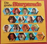 Die große Starparade LP Vinyl Henner Hoier / Karel Gott / Max Greger uvm