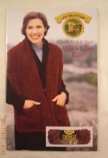 Chenille Thick & Quick 8 Quick & Easy Knits - Lion Brand Yarn - 8 Knit Patterns