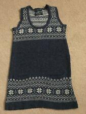 Wintery Snowflake Design Wool Dress - Primark, Size 8