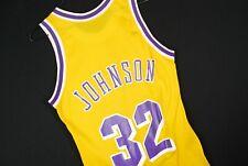 Vintage 90s Champion Magic Johnson Jersey Nba Basketball La Lakers Mens 36 Small