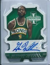2013-14 Innovation Top Notch Die-Cut GUS WILLIAMS Auto /325 SUPERSONICS