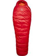 Haglofs Ursus -2 Down Sleeping Bag - Rich Red - 190cm Right Zip - BNWT