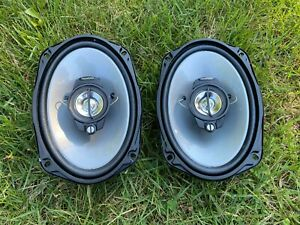 """Kenwood KFC-6965S 6x9"""" Coaxial Speakers - NEW - RARE Factory Defect Edition"""