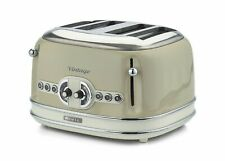 Ariete Vintage 156 B 4 slice Toaster Beige Ex Showroom Display
