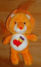 "CARE BEAR COUSINS BRAVE HEART LION plush toy 8""H 2005 by Nanco"