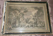 """Napoléon Bonaparte - Rare gravure """" Constitution de l' an VIII """" - Usures"""