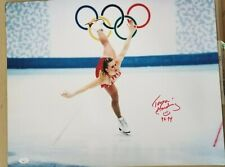 Tonya Harding signed 16x20 Olympic rings JSA coa