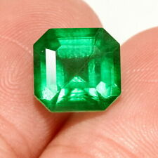 2.8Ct Colombian Emerald Octagon Collection Color Enhanced QMDa440