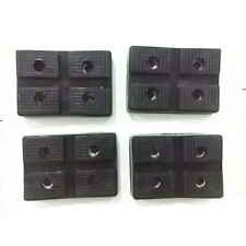 4x Heavy Duty Rubber Car Post Lift Pad  for Sharp Sub-frames & Pinch Weld Point