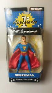 DC DIRECT 1ST APPEARANCE SUPERMAN DC COMICS ACTION COMICS #1 ACTION FIGURE. WOW!