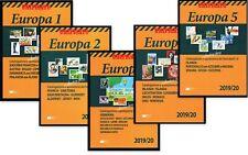 UNIFICATO EUROPA 2019-20 VOLUME 1-5 - CATALOGHI PER FRANCOBOLLI