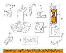 vw volkswagen oem 09-15 jetta-fuel filter 1k0127434a (fits: 2009 jetta tdi)