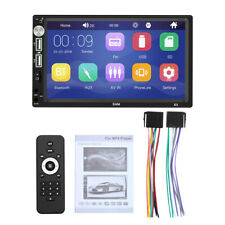 """2DIN 7"""" Bluetooth Car Stereo Radio HD MP5 FM Player For iPhone Android Touch"""