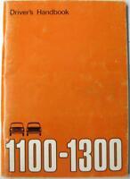 AUSTIN 1100 - 1300 MkIII 1972 #AKD7903 Original Owners Car Handbook