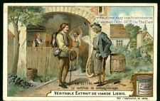 French Companionship Certificate Mail c1903 Trade Ad  Card