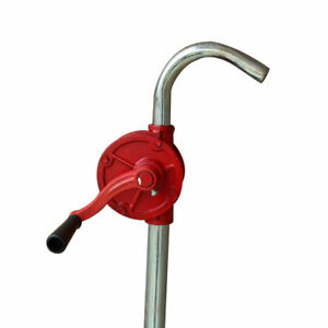 Functional Hand Water Pump Pitcher Cast Iron Press Suction Outdoor Yard NEW