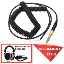 Replacement Cable Cord Wire Plug For Beyerdynamic DT 220 770 880 990 Headphones
