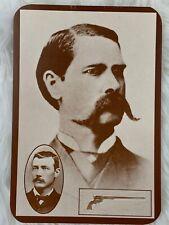 Vintage Western Postcard Black White Picture