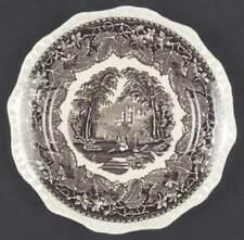 Mason's VISTA BROWN Salad Plate 339011