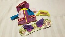 Groovy Girls Snowboard Accessories Set Retired Rare Lot Great Used Condition
