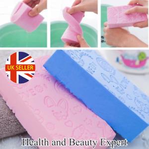 Ultra Soft Exfoliating Sponge Pad Body Skin Bath Shower Scrubber for Adult, Kids