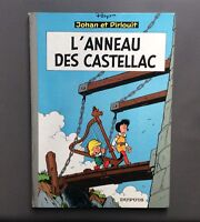 Johan & Pirlouit. L'anneau des castellac. Dupuis 1965