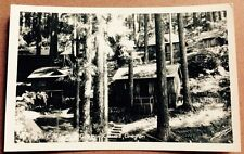 1950s OREGON CAVES, OR, CAVE JUNCTION, OR, COTTAGES REAL PHOTO POSTCARD RPPC