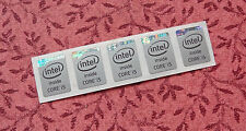 Lot of 10 Intel Core i5 Inside Gray Silver Stickers 12 x 16mm 2013 Haswell Badge