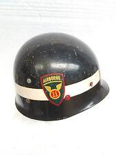 Vintage World War II 11th Airborne Division Army Westinghouse helmet liner Rare!