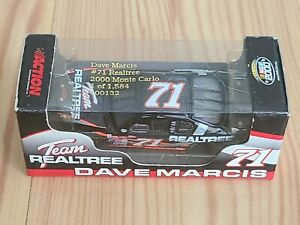 2000 #71 Dave Marcis Team Realtree 1/64 Action NASCAR Diecast MIP