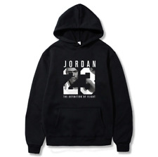 Michael Jordan 23 Hoodie Winter Activewear Long Sleeve Warm Men's Sweatshirt