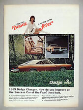 Dodge Charger PRINT AD - 1968 ~~ 1969 model