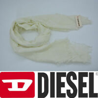 DIESEL SOFTEL SCIARPA 0GACK Womens Scarf Summer Shawl Wrap Cream