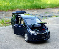 1/32 Honda Odyssey MPV Metal Diecast Model Car Sound&Light Gift Toy Collection