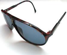 Carrera 5412 Sunglasses Red & Black Plastic Frame Green Blue Lenses Sonnenbrille
