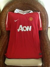 NIKE Authentic Manchester United Red Devils soccerJersey size XXL MENS