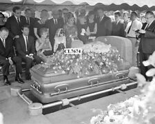 Jayne Mansfield Funeral with Charles Montgomery, Mickey Harigtay and Her Mother