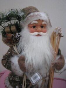 Nikolaus Santa Weihnachtsmann 60 cm Groß Weihnachten Deko 71055 Advent Marke NEU