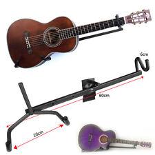 Nueva Guitarra Acústica Eléctrica horizontal Colgador de pared Soporte Bajo Guitarra Ukelele