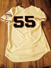 Tim Lincecum Giants Game Used Signed Home Jersey MLB Auto
