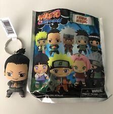 Naruto Shippuden 3D Figural Keyring Series Shikamaru Keychain Opened Blind Bag